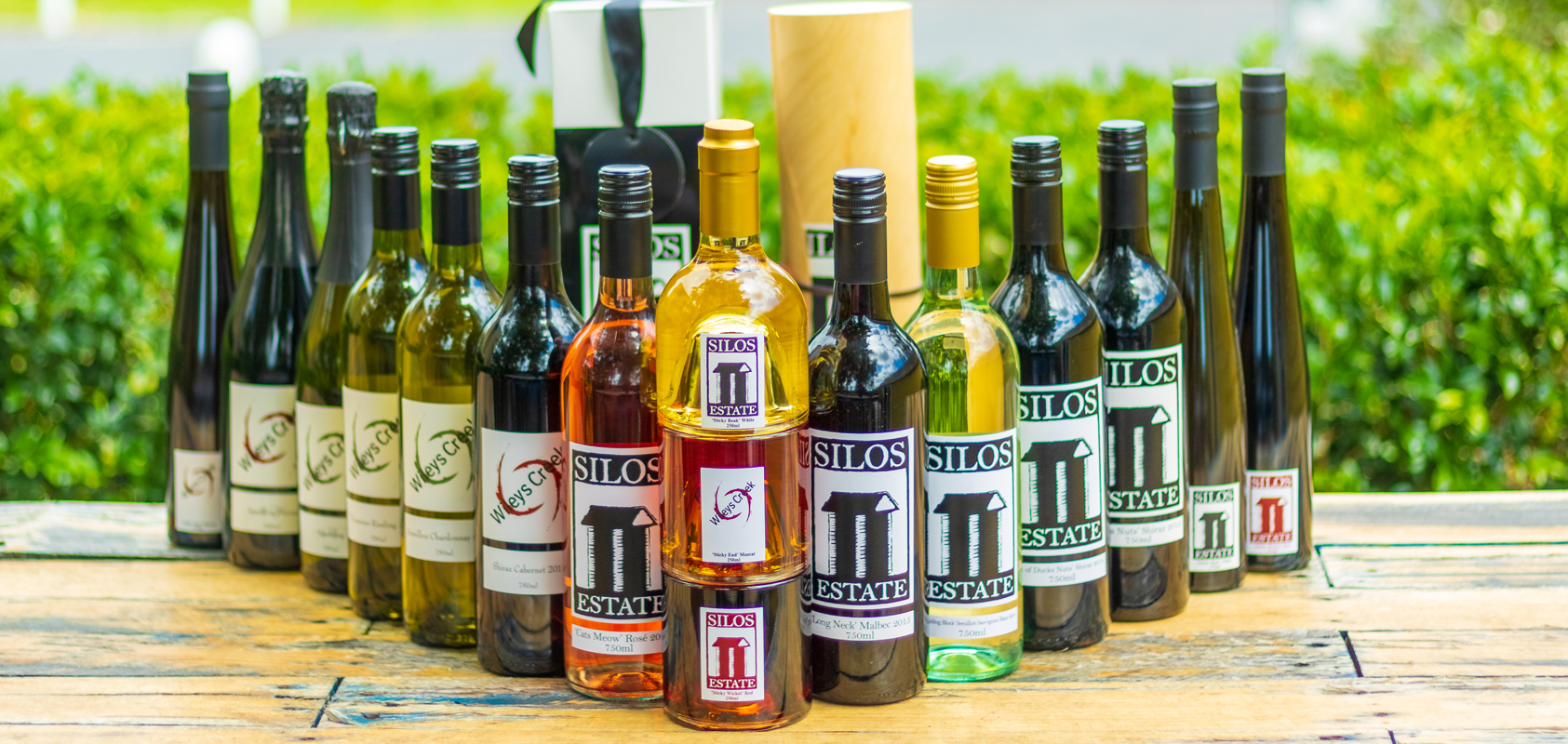 Buy wine online at Silos Estate Cellar Door