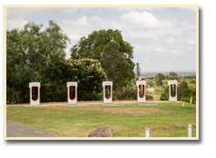 Charging Stations for Electric cars at Silos Estate