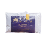 Platinum Alpaca Pillow - 100% alpaca wool with a soft outer shell. Buy online at the Silos Estate online shop.